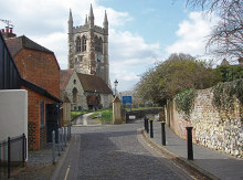 Farnham, St Andrew's Churcht © Alan Hunt