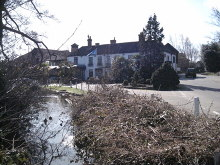 Lindford, Hampshire - Frensham Ponds Hotel © Andrew Davis